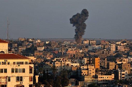 Im Gazastreifen sprechen weiter die Waffen