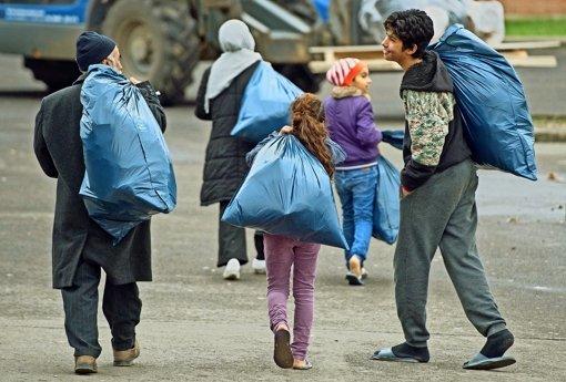 In Deutschland gibt es zahlreiche Erstaufnahmelager für Flüchtlinge.  Foto: dpa