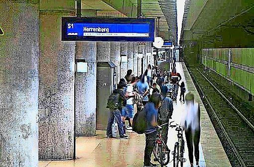 Bewährungsstrafe  wegen Attacke an S-Bahn-Halt
