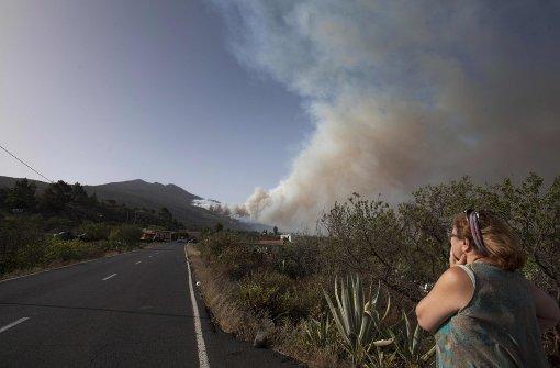 Deutscher entfacht Waldbrand auf La Palma