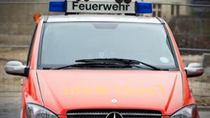 Sofa in Brand geraten