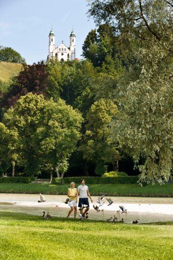 Gesunde Ernährung und Bewegung an der frischen Luft - das Wohlfühlprogramm aus Bad Tölz  Foto: Referat für Stadtmarketing, Tourismus- und Wirtschaftsförderung Bad Tölz