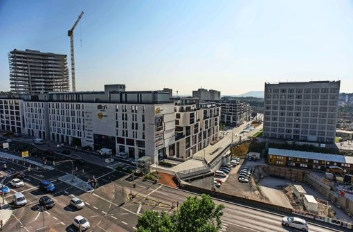 Im Europaviertel öffnet das erste Hotel
