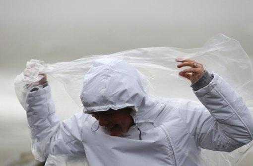 Was bedeuten Böen und Sturmflut?