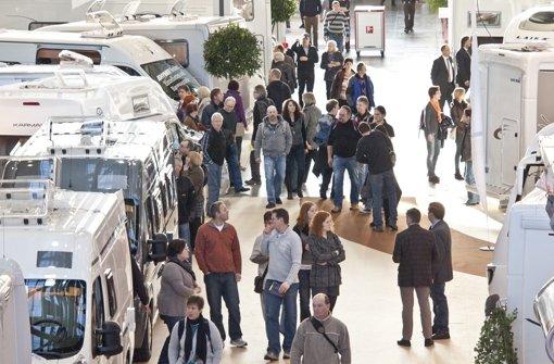 Die Urlaubsmesse CMT präsentiert vom 12. bis zum 20. Januar rund 2000 Aussteller mit Urlaubsideen, Reisezielen aus der ganzen Weltund einer Caravan- und Reisemobil-Schau. Sonderreisethemen wie Fahrrad, Golf, Wellness, Kreuzfahrt und Schiffsreisen werden an den Wochenenden in eigenen Ausstellungsbereichen präsentiert. Foto: Messe Stuttgart