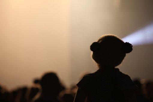 Der Mann auf der Bühne war nicht der einzige Panda an diesem Abend in der Schleyerhalle. Foto: www.7aktuell.de/Kaltenecker