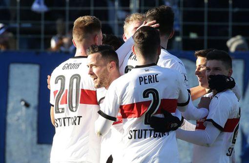 Liveticker: Pausenführung für den VfB Stuttgart II