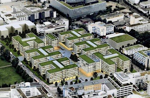 Visionen: So könnte der Daimler-Komplex ausschauen Foto: Daimler