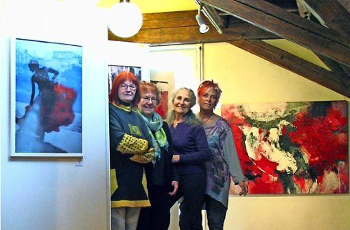Sieben Künstler, sieben unterschiedliche Stile