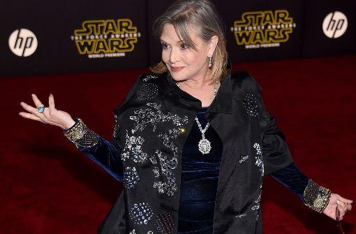 Carrie Fisher mit 60 Jahren gestorben