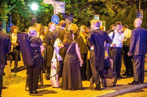 1200 Besucher der Schlossfestspiele mussten das Gebäude verlassen. Foto: SDMG