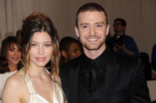 Timberlake und Biel feiern Hochzeit