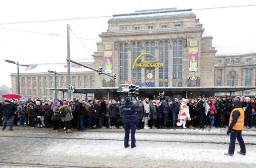 Bahn sperrt Hauptbahnhof nach Schneefall