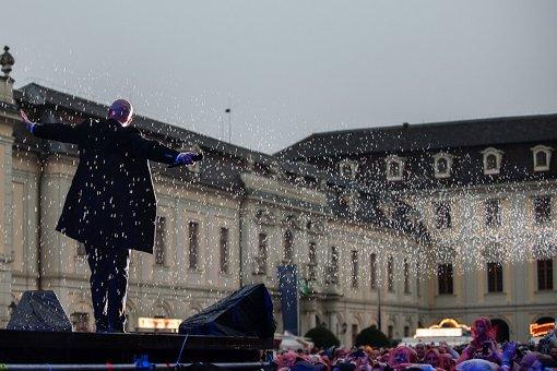 Der Graf tanzt durch den Sommerregen