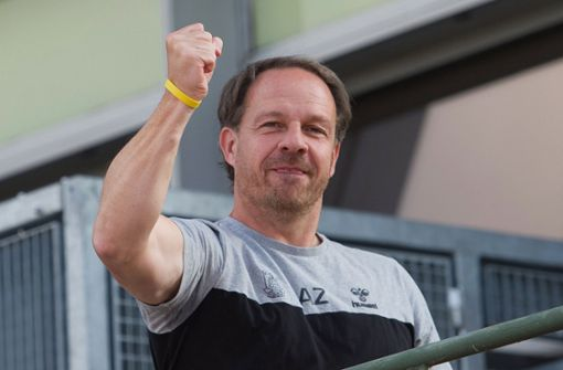 Alexander Zorniger genießt seinen Erfolg in Dänemark