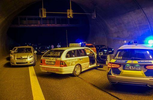 Ursache für Pkw-Brand in Engelbergtunnel geklärt