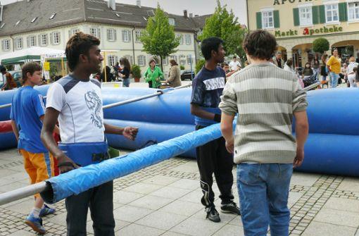Ein Fest als Zeichen für gelungene Integration