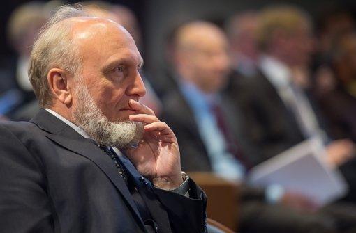 Hans-Werner Sinn geht in Pension. Foto: dpa