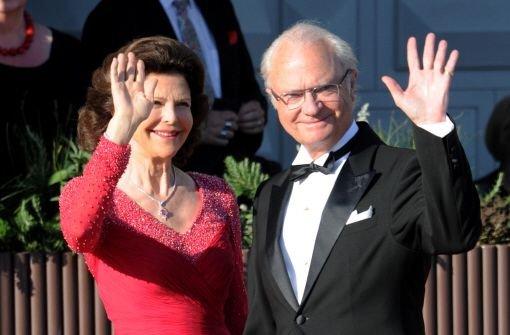Der schwedische König Carl Gustaf und Königin Silvia. Foto: dpa