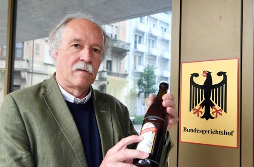 Gottfried Härle, Geschäftsführer der Brauerei Clemens Härle, ist vor dem Bundesgerichtshof in Karlsruhe unterlegen.  Foto: dpa