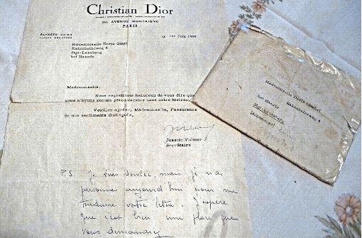 1955 bewarb sie sich bei Dior in Paris, erhielt eine nette Absage. Foto: Winter