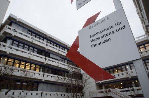 Weiter in den Schlagzeilen befindet sich die Verwaltungshochschule in Ludwigsburg. Foto: dpa