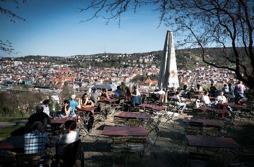 Hier ist es unter Stuttgarts Sonne am schönsten
