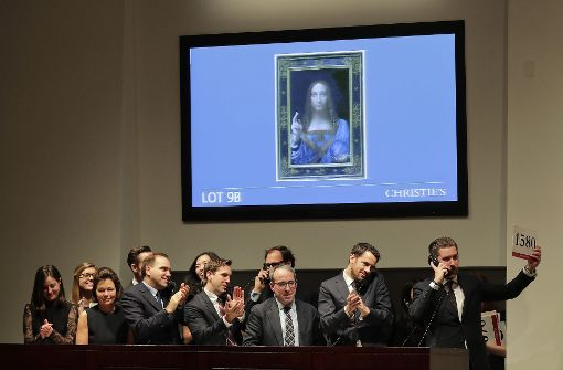 Rekord: Da Vinci-Gemälde für 450 Millionen Dollar versteigert