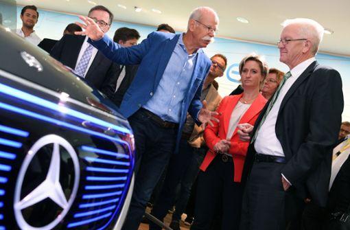 Ministerpräsident Kretschmann enttäuscht von Daimler