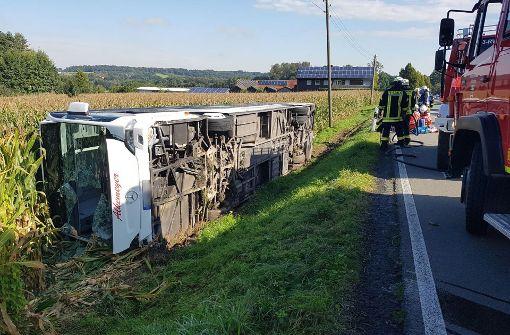 Busunglücke in NRW und Brandenburg