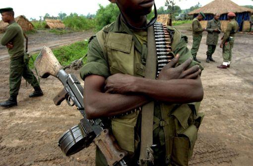 Endloses Blutvergießen: Pfarrvikar Jean Lukombo will in seinem Vortrag auch erklären, was die Gewalt  im Ostkongo mit der Handyproduktion zu tun hat. Foto: dpa