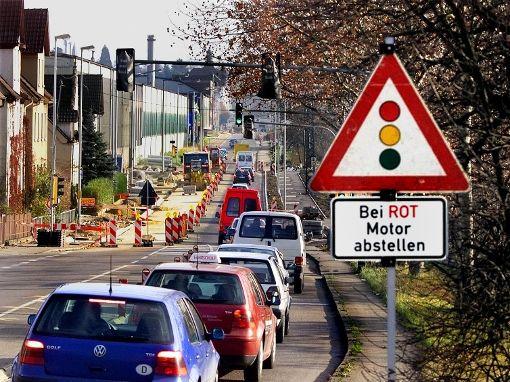 Gute Luft im Stadtbezirk Vaihingen am Dienstag