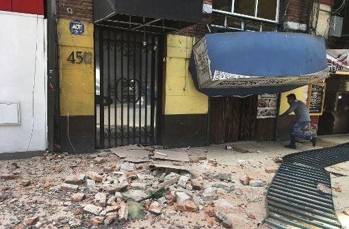 Zwei Tote nach Erdbeben in Mexiko