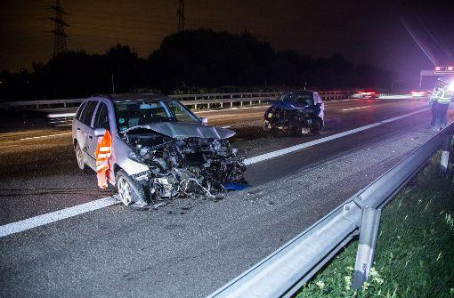 Verkehrsunfall sorgt für Vollsperrung auf der A81