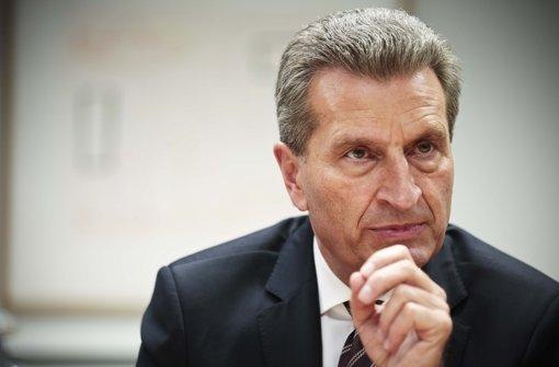 Günther Oettinger Foto: Leif Piechowski
