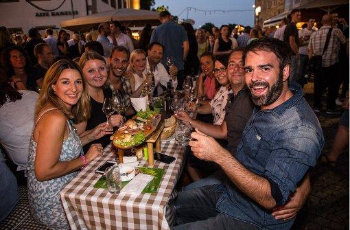 Beim Weindorf dreht sich alles um Weißwein, Rotwein oder Rosé. Foto: 7aktuell.de/Adomat