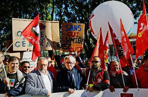 Proteste in Frankreich: Breite Front gegen Emmanuel Macron ...