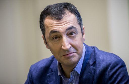 Cem Özdemir stellt Strafanzeige gegen Unbekannt