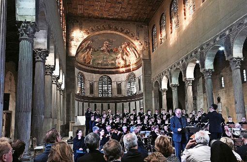 Singen für den Kardinal Kasper