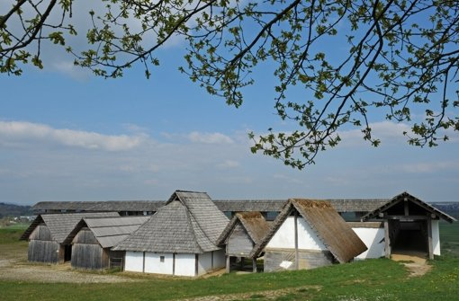 Keltenmuseum in Heuneburg Foto: dpa