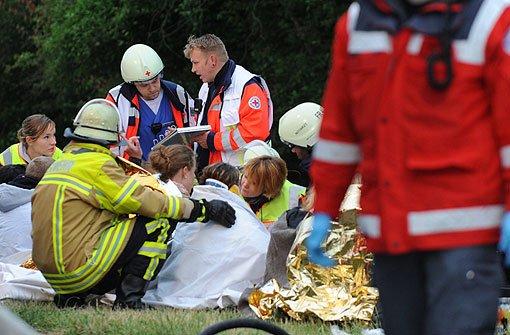 Schwerer Unfall mit Schweizer Reisebus