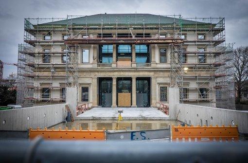 Noch eine Baustelle: das Stadtmuseum im Wilhelmspalais Foto: Lichtgut/Achim Zweygarth