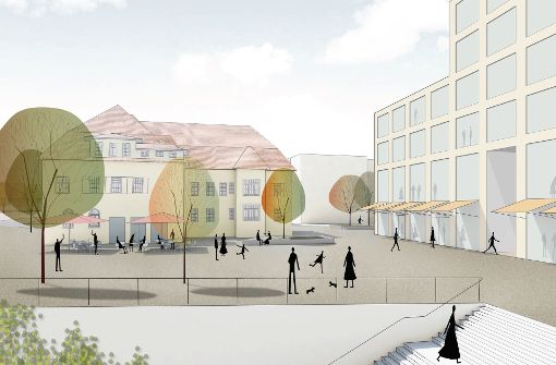 Der Bahnhofsplatz soll eine hohe Aufenthaltsqualität besitzen. Foto: Hosoya Schaefer Architects/agence ter