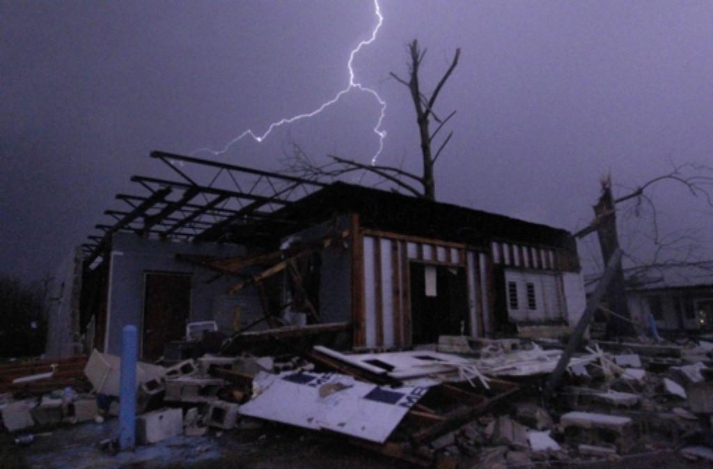 Die Tornados im Süden der USA hinterlassen Verwüstung. - Stuttgarter ...