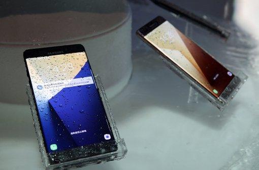 Samsung ruft neues Smartphone zurück