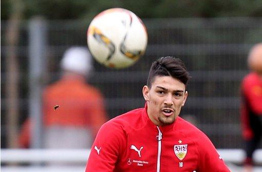 """Ich bin hungrig auf Fußball"": VfB-Rückkehrer Federico Barba Foto: Baumann"