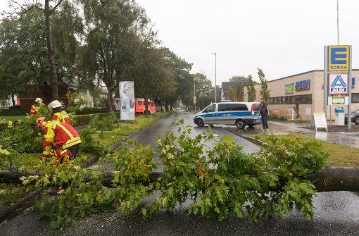 Tote und viele Verletzte nach Orkan