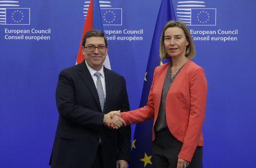 EU und Kuba unterzeichnen historischen Vertrag