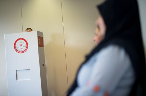 So haben die Türken in Stuttgart gewählt