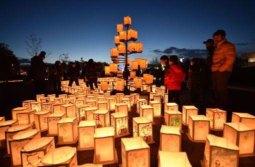 Japan gedenkt Opfern mit Lichtermeer